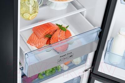 Холодильник с морозильником Samsung RB37K63412C