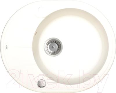 Мойка кухонная Iddis Kitchen G K10W621i87 (белый)