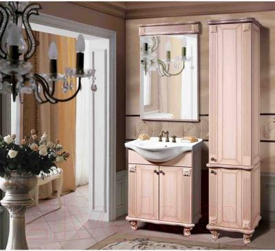 Зеркало для ванной Bliss Баккара-1 / 0453.3 (дуб молочный)