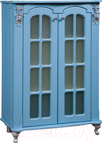 Тумба для ванной Bliss Версаль 2Д 0454.3 (голубой)