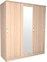 Шкаф Интерлиния Неаполь АН-012-17-01 (дуб сонома) -