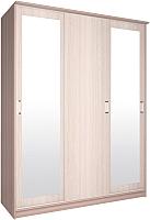 Шкаф Интерлиния Неаполь АН-012-17-02 (ясень шмо св./ясень шимо тм.) -