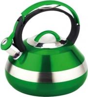 Чайник со свистком Peterhof PH-15593 (зеленый) -