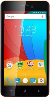 Смартфон Prestigio Wize P3 3508 / PSP3508DUOORANGE (оранжевый)