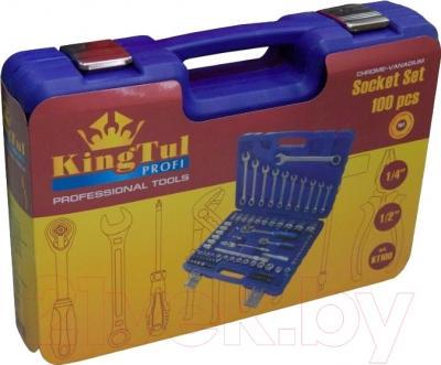 Универсальный набор инструментов KingTul KT100