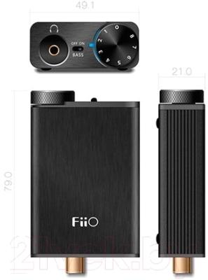 Портативный усилитель для наушников FiiO E10K
