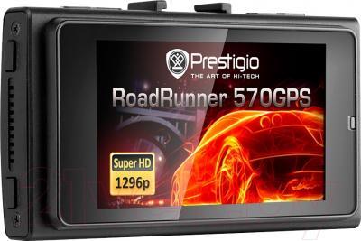 Автомобильный видеорегистратор Prestigio RoadRunner 570GPS / PCDVRR570GPSB