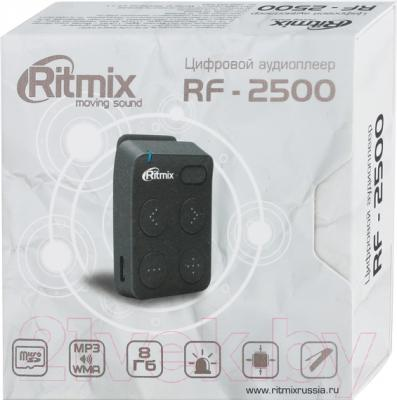 MP3-плеер Ritmix RF-2500 (8Gb, темно-серый)