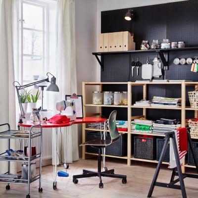 Письменный стол Ikea Хиссмон/Крилле 191.197.25