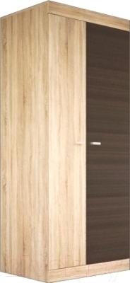 Шкаф Мебель-Неман Веста МН-130-01 (дуб сонома/дуб ниагара)