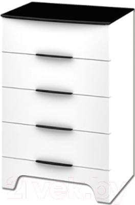 Комод Мебель-Неман Верона МН-128-02 (белый глянец)