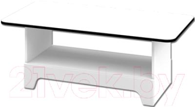 Журнальный столик Мебель-Неман Верона МН-128-05 (белый глянец)