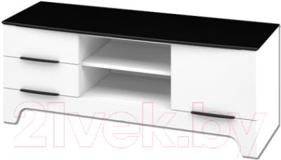 Тумба Мебель-Неман Верона МН-128-06 (белый глянец)