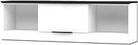 Шкаф навесной Мебель-Неман Верона МН-128-10 (белый глянец) -