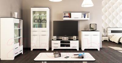 Шкаф навесной Мебель-Неман Верона МН-128-10 (белый глянец)