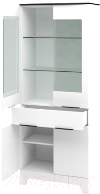 Шкаф Мебель-Неман Верона МН-128-11 (белый глянец)