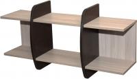Полка Мебель-Класс Вегас-1 (венге/ясень шимо светлый) -