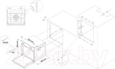 Электрический духовой шкаф Simfer B6EL18011