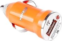 Автомобильный адаптер питания Ritmix RM-112 (оранжевый) -