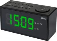 Радиочасы Ritmix RRC-1212 (черный) -