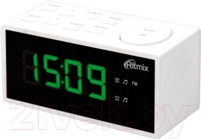 Радиочасы Ritmix RRC-1212 (белый)