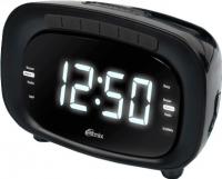 Радиочасы Ritmix RRC-1250 (черный) -