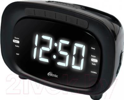 Радиочасы Ritmix RRC-1250 (черный)