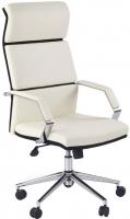Кресло офисное Halmar Costa (белый/черный) -