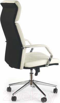 Кресло офисное Halmar Costa (белый/черный)