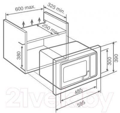 Микроволновая печь Teka MWL 20 BI (40583500)