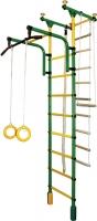 Детский спортивный комплекс Формула здоровья Фаворит-1С Плюс (зеленый/желтый) -
