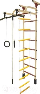 Детский спортивный комплекс Формула здоровья Жирафик-1А Плюс Универсальный (бежевый/коричневый)