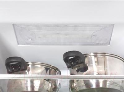 Холодильник с морозильником LG GA-B489SVQZ