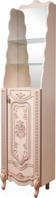 Шкаф-пенал для ванной Bliss Венеция 1Д 0461.9 (дуб молочный)