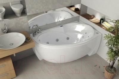 Ванна акриловая Aquatek Бетта 150x95 R (с экраном)