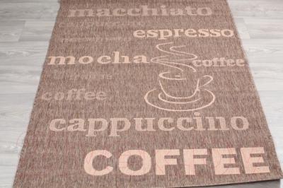 Циновка Lalee Finca 510 (160x230, кофе)