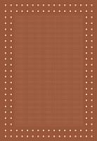 Циновка Balta Fondo 4840/012 (120x170, рыжий) -