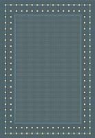 Циновка Balta Fondo 4840/033 (80x150, синий) -