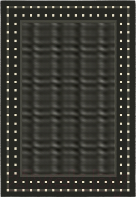 Циновка Balta Fondo 4840/090 (140x200, черный/белый)
