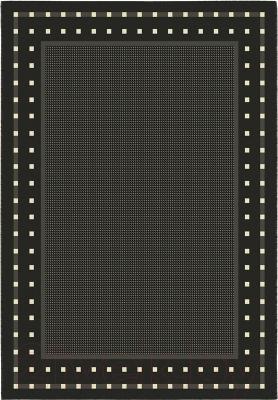 Циновка Balta Fondo 4840/090 (80x250, черный/белый)