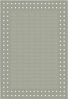 Циновка Balta Fondo 4840/37 (140x200, серебряный) -