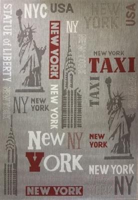 Циновка Balta Star 19091/085 (140x200, серый Нью-Йорк)