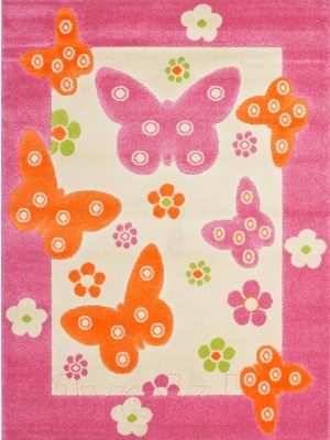 Ковер Lalee Amigo 307 (100x150, бабочки)