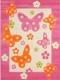 Ковер Lalee Amigo 307 (133x190, бабочки) -