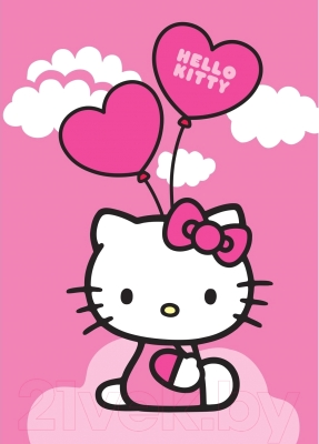 Ковер Associated Weavers Hello Kitty Ballons 95x133