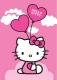 Ковер Associated Weavers Hello Kitty Ballons 95x133 -