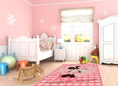 Ковер Associated Weavers Minnie Think Pink 95x133