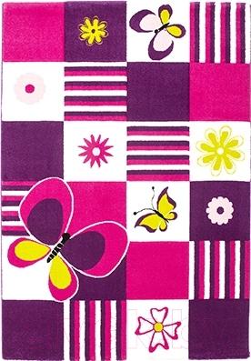 Ковер Lalee California 154 (160x230, бабочки)