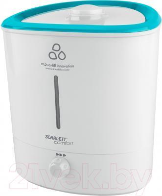 Ультразвуковой увлажнитель воздуха Scarlett SC-AH986M12 (белый)
