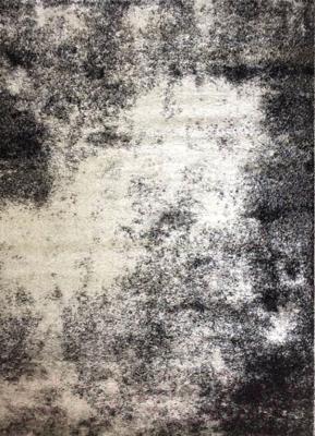 Ковер Flora Jasmine (160x230, черный/серебристый)